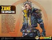 【无主之地3】特工Zane角色设定图一览