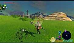 【塞尔达传说:旷野之息】不用蓄力的单手剑回旋斩